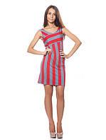 Короткое платье в полоску (XS-L)