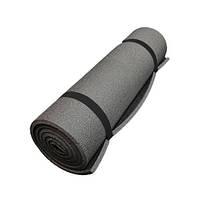 Коврик для фитнеса серый (8мм)