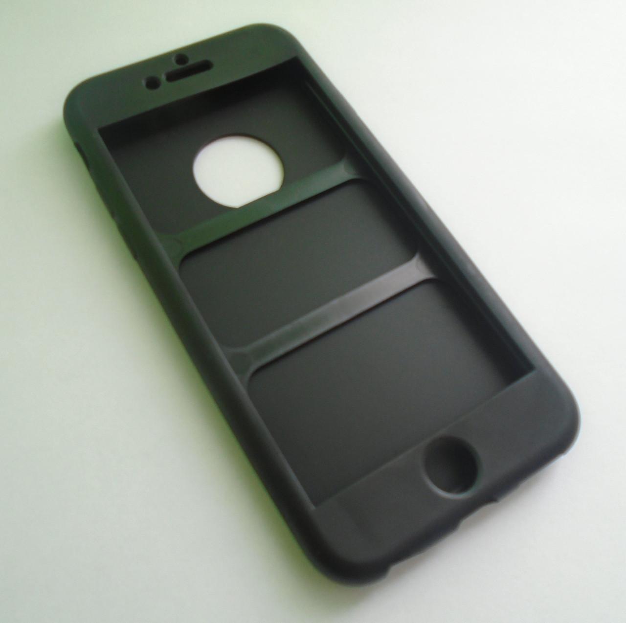 TPU Силикон  чехол iPaky 360 градусов для Apple iPhone 6 6S 6G