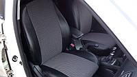 Модельные Чехлы на сиденья из Эко-кожи с отдельными подголовниками ВАЗ 2113, 2004-2013 годы выпуска «тринашка», фото 1