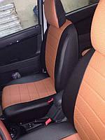 Модельные Чехлы на сиденья из Эко-кожи с отдельными подголовниками ВАЗ 2111, Богдан 2111 1998-2009, 2009-2014, фото 1