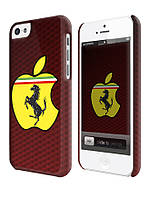 Чехол для iPhone 4/4s/5/5s/5с ferrari apple