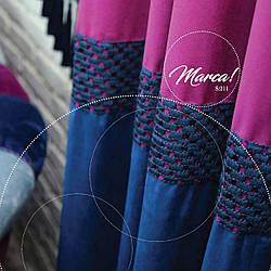 Бордюр текстильный вышитый Marca