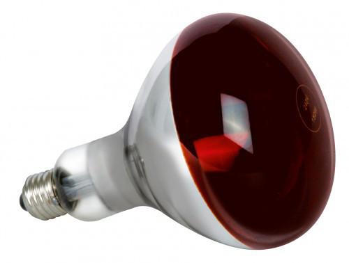 Инфракрасная лампа для обогрева E27 250Вт Flash зеркальная