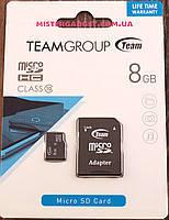 Карта памяти TEAMGROUP 8GB