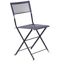 Металлический стул Пуатье hy-c144 сталь сетка om-005 темно серый 7547