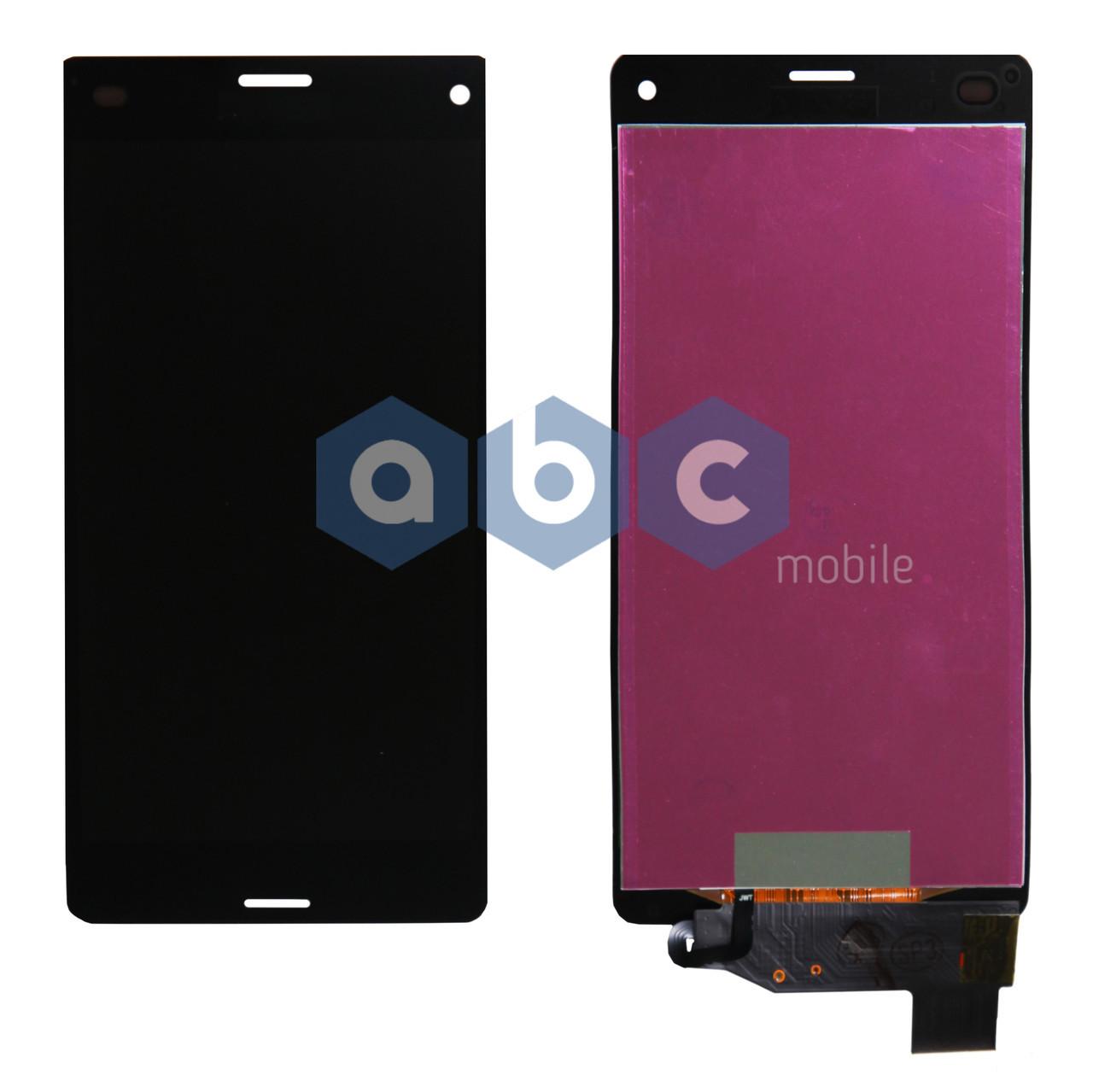 Дисплей (модуль) Sony Xperia Z3 mini Z3 Compact D5803 черный