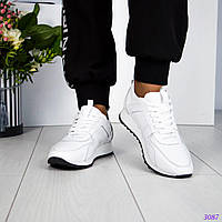 """Кроссовки белые """"LV, фото 1"""