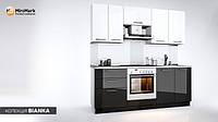 """Кухня """"BIANCA""""с комбинироваными фасадами"""