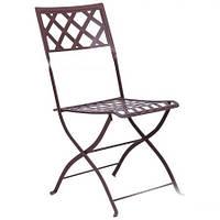 Металлический стул Монмарт hy-c168 сталь сетка тканная какао 8031