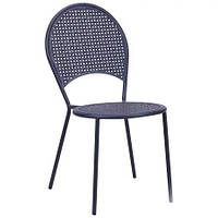 Металлический стул Анжу hy-c090 сталь сетка рm-003 темно серый 7547