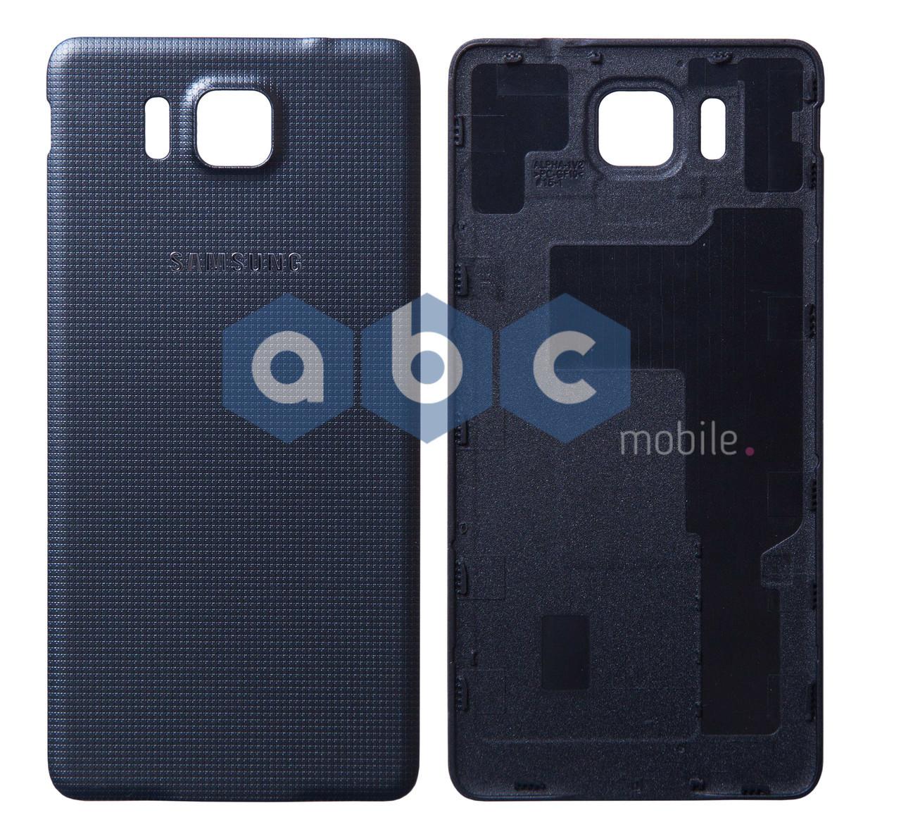 Задняя крышка (панель) Samsung Galaxy Alpha G850 черная