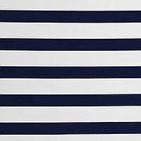 Хлопковая ткань Синие полосы (перкаль)