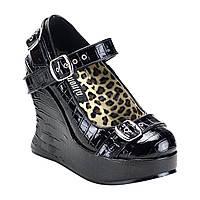 """Туфлі Demonia BRAVO-10 Жіночі 5"""" Wedge BRA10/B"""