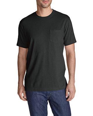 Футболка Eddie Bauer Legend Wash Short-Sleeve Pocket T-Shirt - Classic Fit