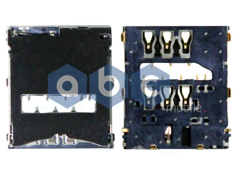 Коннектор SIM-карты Sony C6602 LT36h Xperia Z, C6603 LT36i Xperia Z, C