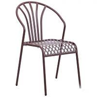 Металлический стул Артуа hy-c131 сталь сетка pm-009 какао 8031