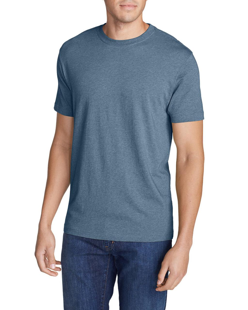 Футболка Eddie Bauer Legend Wash Short-Sleeve T-Shirt - Slim Fit
