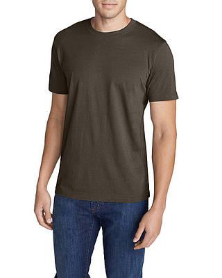 Футболка Eddie Bauer Legend Wash Short-Sleeve T-Shirt - Slim Fit