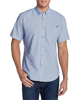 Тенниска Eddie Bauer Bainbridge II Short-Sleeve Seersucker
