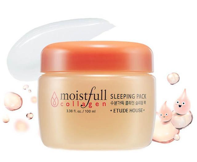 Ночная маска с коллагеном ETUDE HOUSE Moistfull Collagen Sleeping Pack