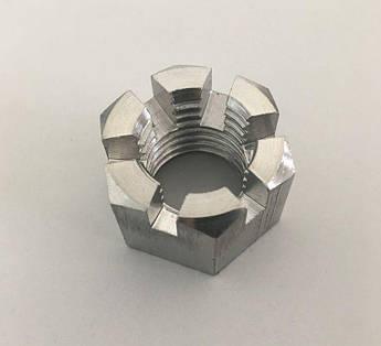 Гайка корончатая М6 ГОСТ 5918-70, DIN 935 из нержавеющей стали А2 и А4, фото 2