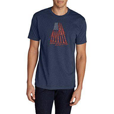 Футболка Eddie Bauer Graphic T-Shirt - Tree Flag
