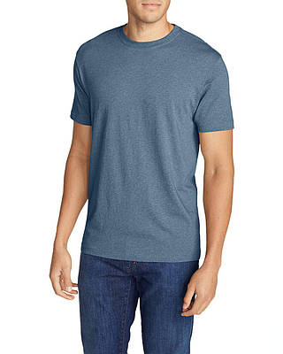 Футболка Eddie Bauer Legend Wash Short-Sleeve T-Shirt - Classic Fit