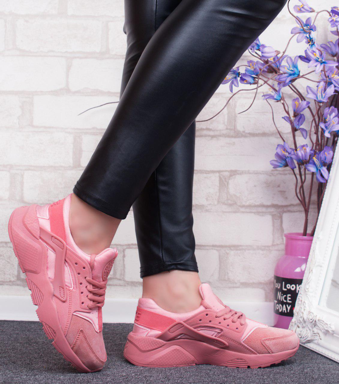 """Кроссовки, кеды, мокасины женские реплика  """"Huarache"""" эко кожа, спортивная, летняя, повседневная обувь"""