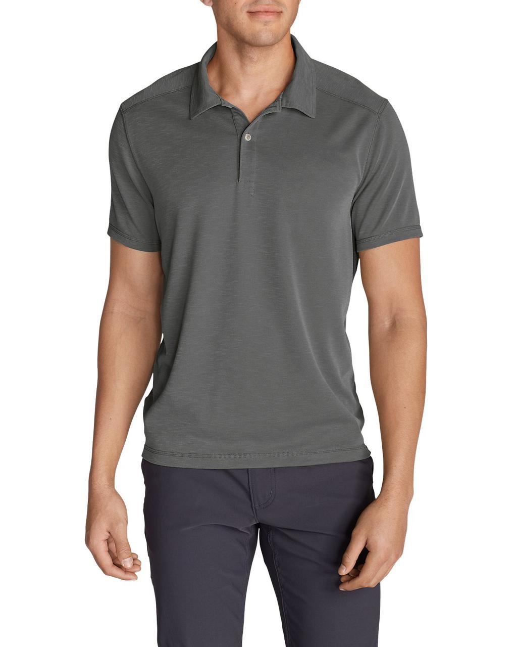 Поло рубашка Eddie Bauer Contour Performance Slub Polo Shirt M