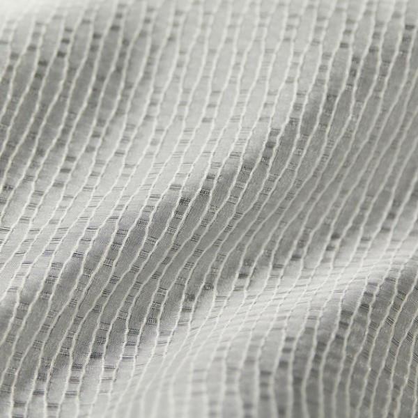 Тюль-органза молочного цвета 2970-005 GOFRE