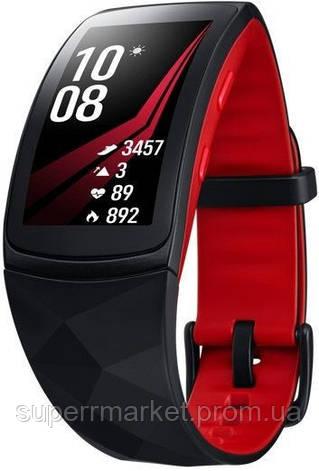 Фитнес-браслет Samsung Gear Fit 2 Pro large (SM-R365NZRASEK) Red  '3, фото 2