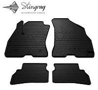 Автомобильные коврики Fiat Doblo 10 (Фиат Добло) (2 шт) передние, Stingray