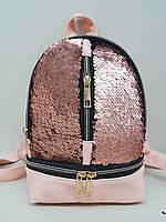 Рюкзак з паєтками., фото 1