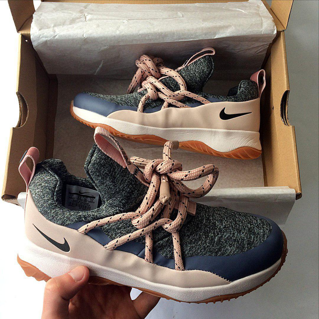 ae56c5ef3879 Женские кроссовки Nike City Loop Pink Grey 2018 ( точная реплика 1 1) ...