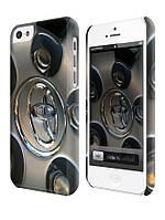 Чехол для iPhone 4/4s/5/5s/5с toyota диски