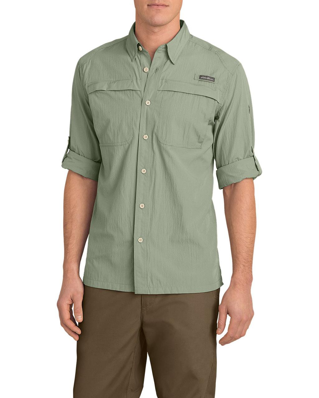 Рубашка Eddie Bauer Guide Long-Sleeve Shirt M