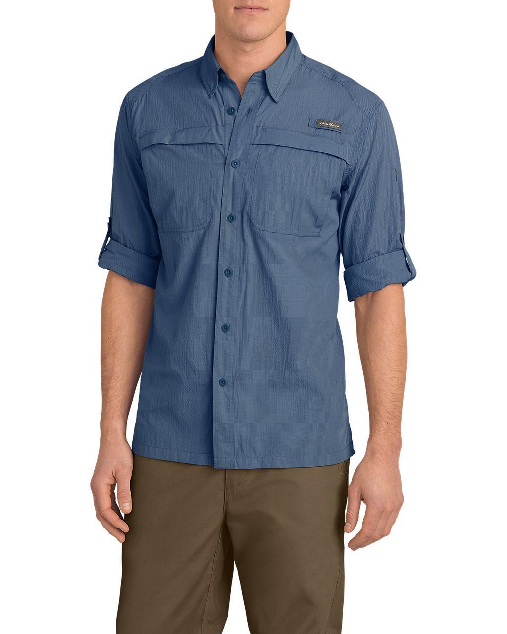 Рубашка Eddie Bauer Guide Long-Sleeve Shirt XL