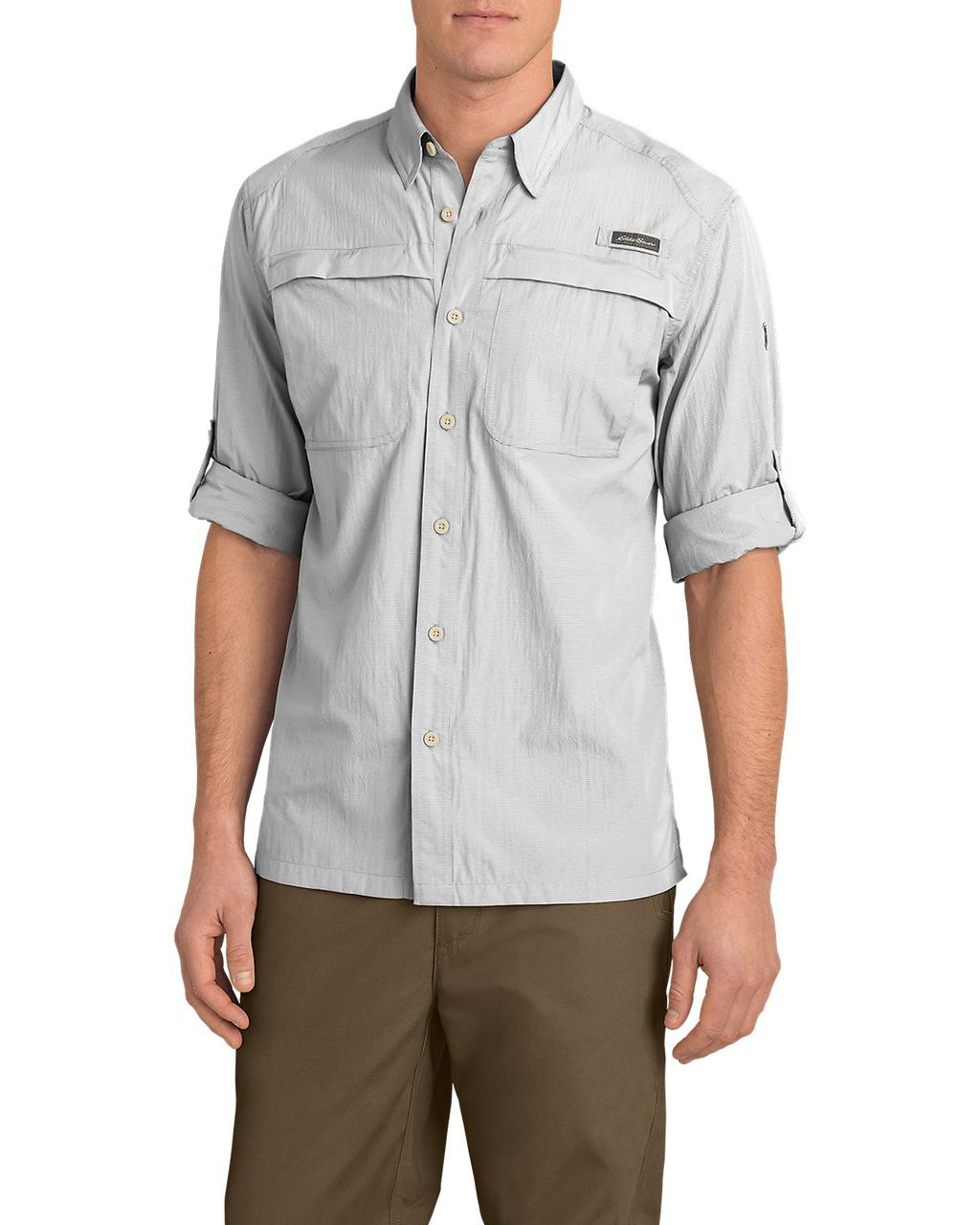 Рубашка Eddie Bauer Guide Long-Sleeve Shirt M