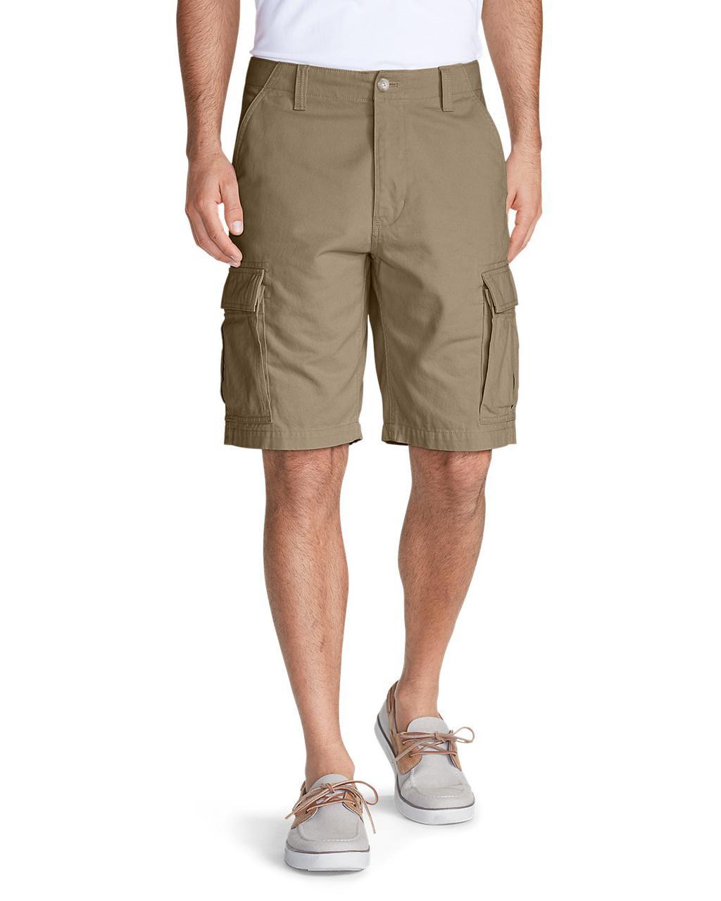 """Шорты Eddie Bauer Expedition 11"""" Cargo Shorts - Solid Waist 32"""