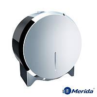 Держатель для туалетной бумаги из полированной нержавейки Merida Stella Mini, Польша, фото 1