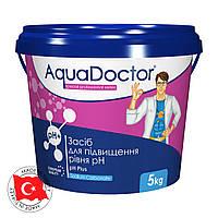 AquaDoctor pH Plus 5 кг - Гранулированный состав для повышения уровня pH воды