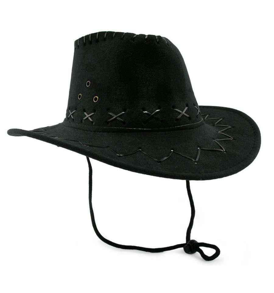 Шляпа ковбоя (Стетсон) черная детская