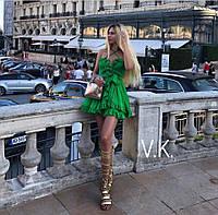 Нежное и воздушное платье на брителях Мод.: Н-245, фото 1