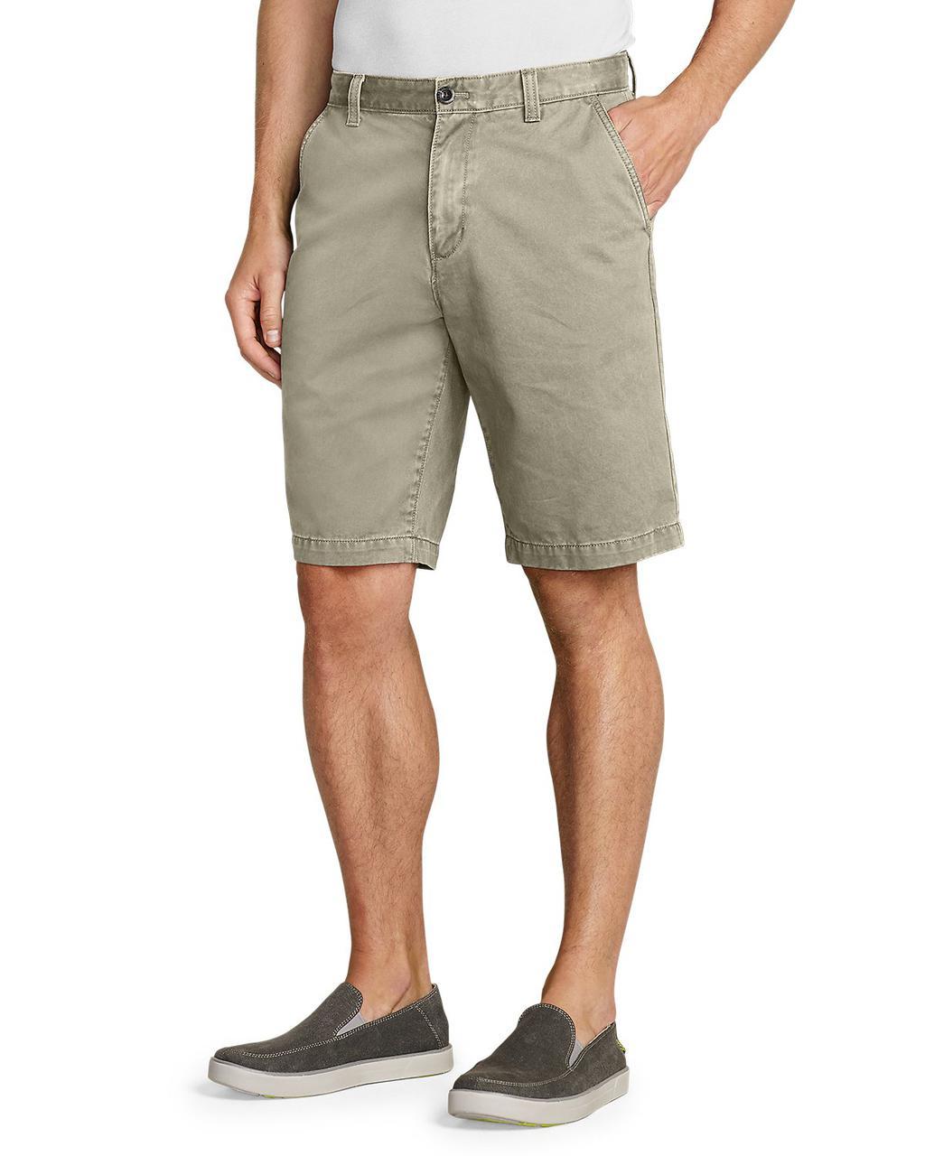 """Шорты Eddie Bauer Legend Wash 11"""" Chino Shorts - Solid Waist 33"""
