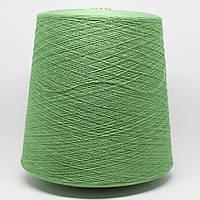 Пряжа Luxor, зелень весенняя (100% хлопок; 1667 м/100 г)