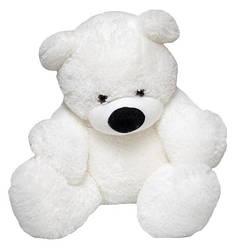 Мягкая игрушка: Плюшевый медведь Бублик, 140 см, Белый