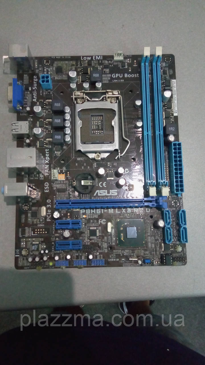 материнская плата ASUS P8Z77-V LX motherboard LGA 1155 под ремонт или запчасти
