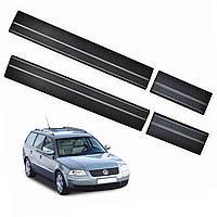Volkswagen Passat B5 1996–2005 пластиковые накладки на пороги