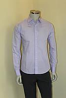 Рубашка мужская сиренивая  №10-12 - 93, фото 1